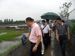 旅游局和科教局领导到基地指导工作