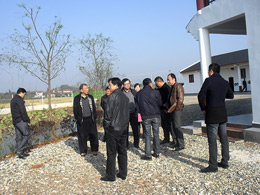 柳叶湖领导考察产业园
